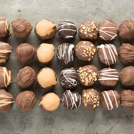 candy bar collection truffles wicked good treats